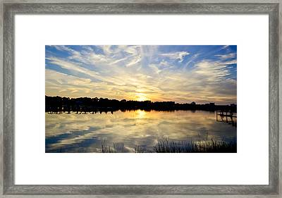 Mirror-mirror Framed Print by Elbe Photography