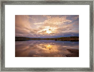 Mirrors Framed Print by Rose-Maries Pictures