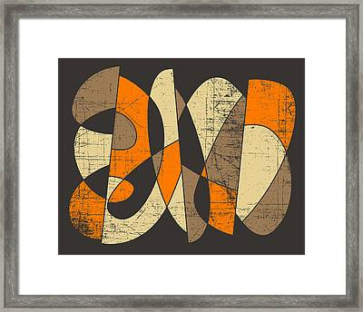 Misplaced Framed Print by Jazzberry Blue