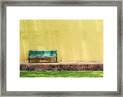 Misread Framed Print by Prakash Ghai