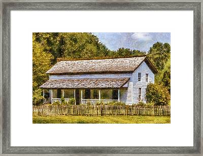 Miss Becky's House Framed Print by Barry Jones