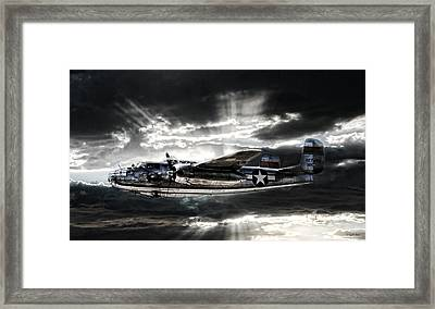 Miss Mitchell Framed Print by Peter Chilelli
