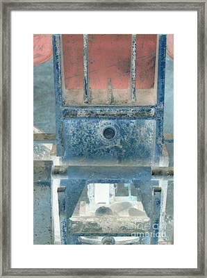 Missing Middle Bar Center Vertical Framed Print by Heather Kirk