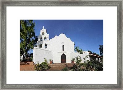 Mission Basilica San Diego De Alcala Framed Print by Stephen Stookey