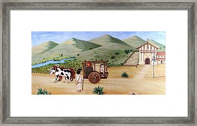 Mission Dolores Framed Print by Evangelina Portillo