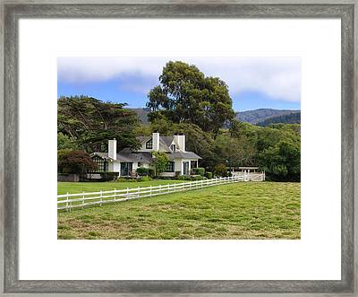 Mission Ranch - Carmel California Framed Print by Glenn McCarthy Art and Photography