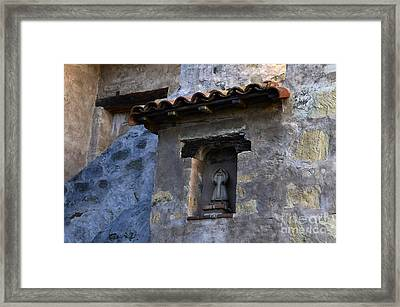 Mission San Carlos Borromeo De Carmelo 3 Framed Print by Bob Christopher