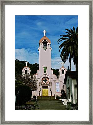 Mission San Rafael Framed Print by Eric Tressler