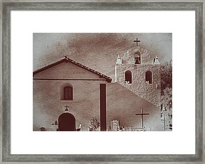 Mission Santa Ines Framed Print by See My  Photos