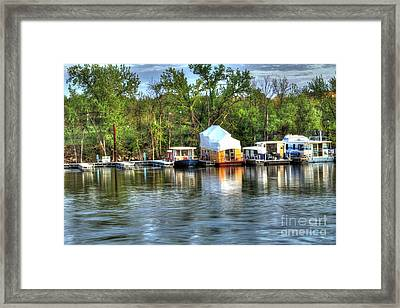 Mississippi Harbor 3 Framed Print by Jimmy Ostgard