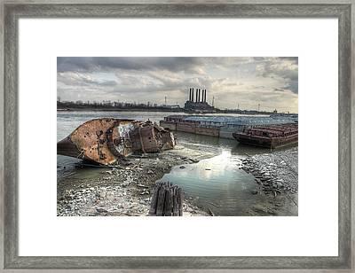 Mississippi River Framed Print by Jane Linders