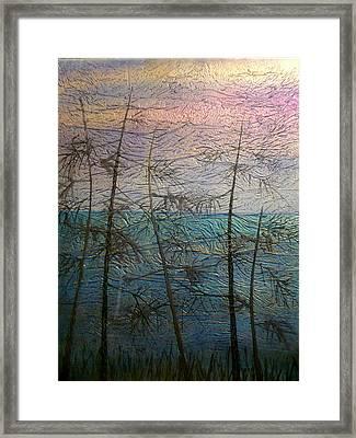 Mist Fantasy Framed Print by Rick Silas