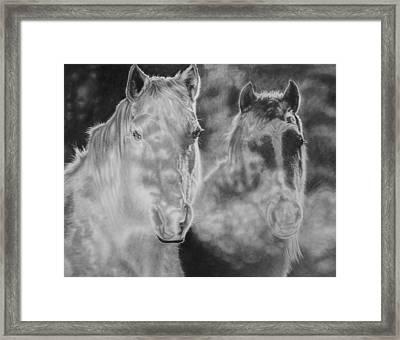 Mist Framed Print by Glen Powell