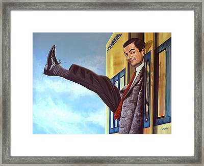 Mister Bean Framed Print by Paul Meijering