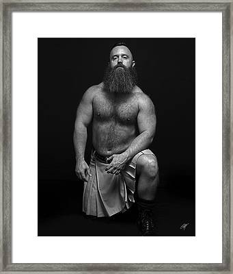 Mister R Framed Print by Chris  Lopez