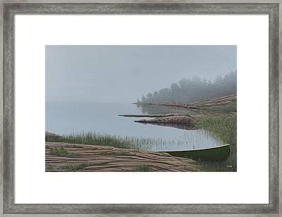 Mistified Framed Print by Kenneth M  Kirsch