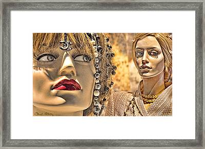 Mistrust Framed Print by Chuck Staley
