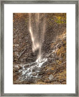 Mists In The Glen Framed Print by Joshua House