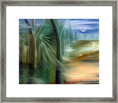 Mists Of Avalon Framed Print by Rosemarie Morelli