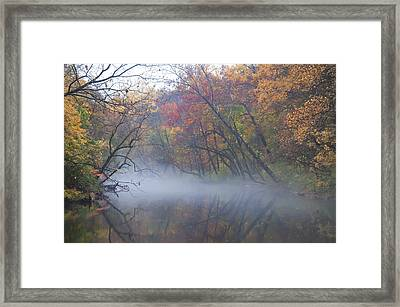 Mists Of Time Framed Print by Bill Cannon
