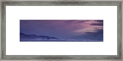 Misty Cannon Beach Framed Print by Andrew Soundarajan