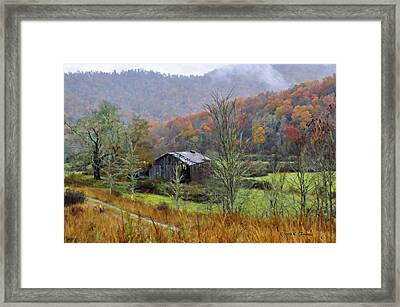 Misty Morn Framed Print by Kenny Francis