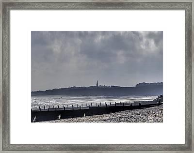 Misty Morning Hornsea Framed Print by Trevor Kersley
