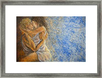 Misty Romance Framed Print by Nik Helbig
