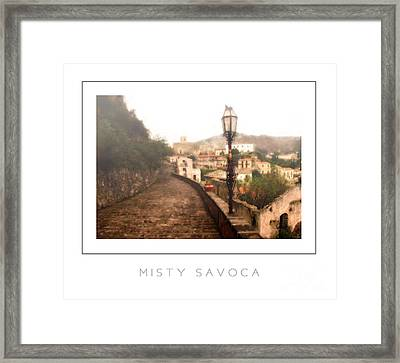 Misty Savoca Poster Framed Print by Mike Nellums