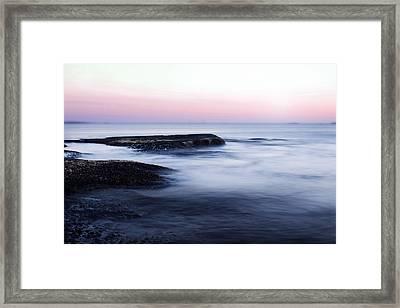 Misty Sea Framed Print by Nicklas Gustafsson