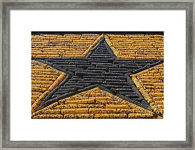 Mitchell Corn Palace - Corn Star Framed Print by Gregory Dyer