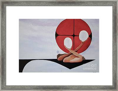 Mitosis Of Love Framed Print by Stuart Engel