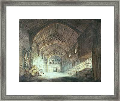 Mitton Hall, Lancashire Framed Print by Joseph Mallord William Turner