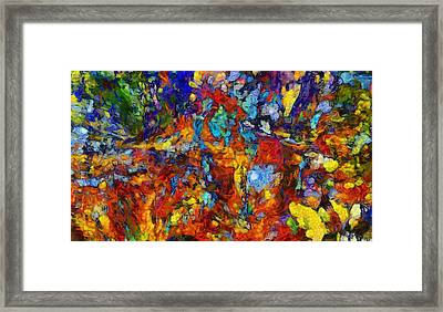 Mixed Emotions Framed Print by Dan Sproul