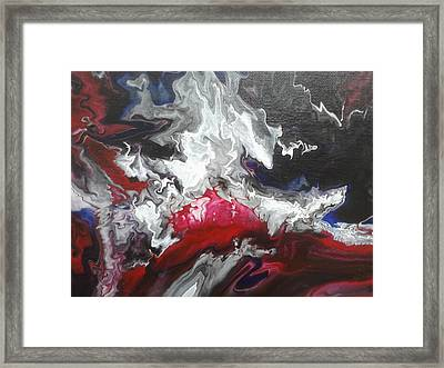 Mixed Emotions Framed Print by Mitchell Embry