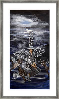Mj 2 Framed Print by Roger  James