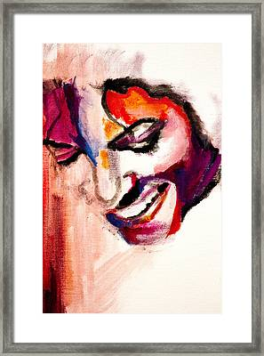 Mj Impression Framed Print by Molly Picklesimer