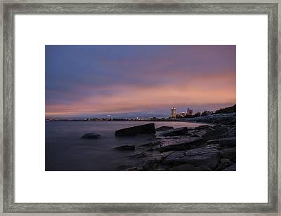 Mke 5am Framed Print by CJ Schmit