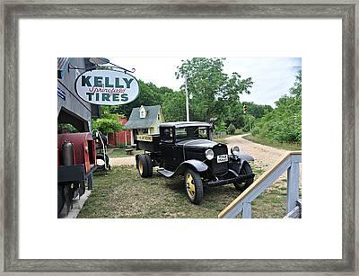 Model A Truck Framed Print by Marty Koch