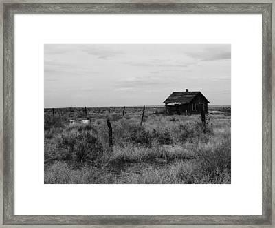 Model Home Framed Print by Anna Villarreal Garbis