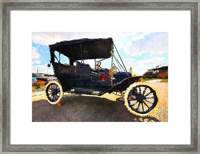 Model T Ford Framed Print by Liane Wright