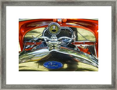 Model T Ford Framed Print by Robert Bales