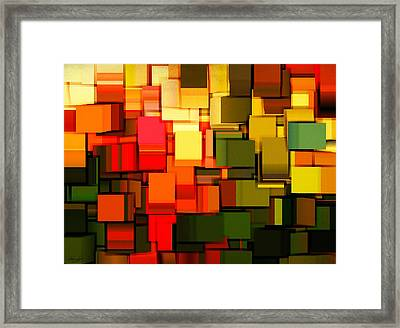 Modern Abstract I Framed Print by Lourry Legarde