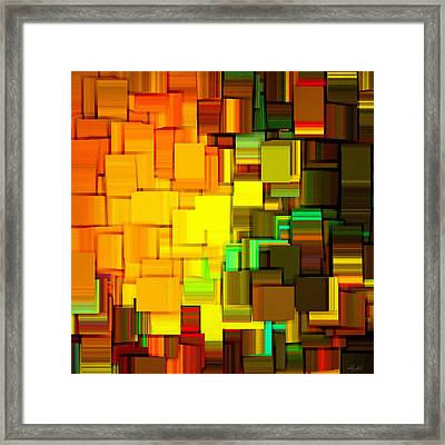 Modern Abstract IIi Framed Print by Lourry Legarde