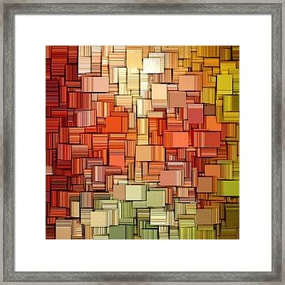 Modern Abstract Viii Framed Print by Lourry Legarde
