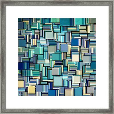 Modern Abstract Xxiv Framed Print by Lourry Legarde