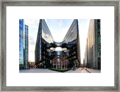 Modern Building Framed Print by Ollie Taylor