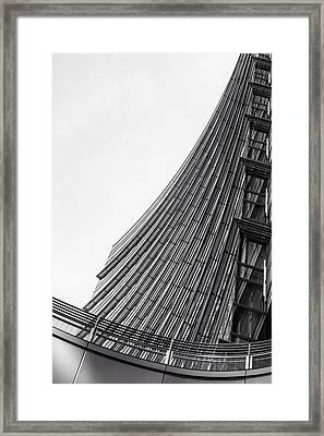 Modern Curves Framed Print by Alfio Finocchiaro