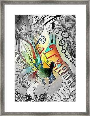 Modern Fell Framed Print by Mylene Le Bouthillier
