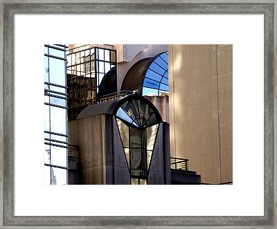 Modern Highrise Framed Print by Bill Gallagher